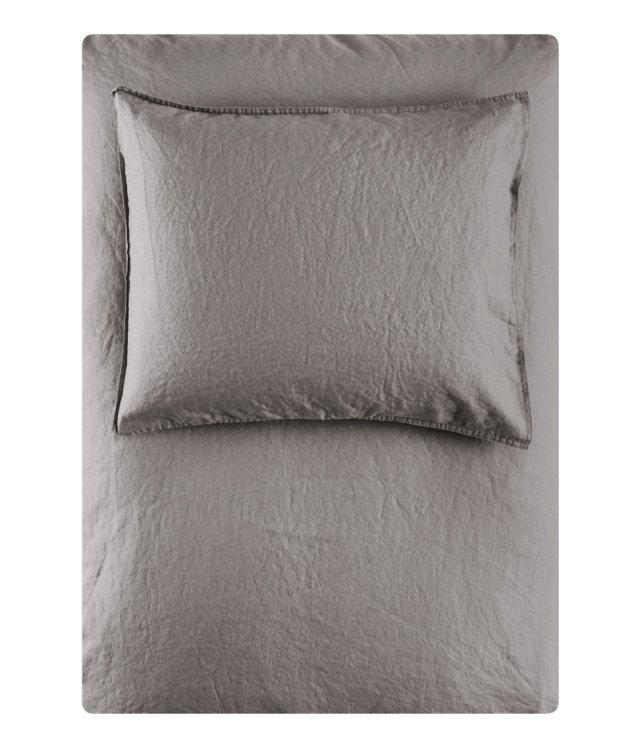Bed linen grey