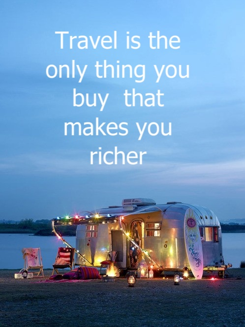 Travel caravan and quote