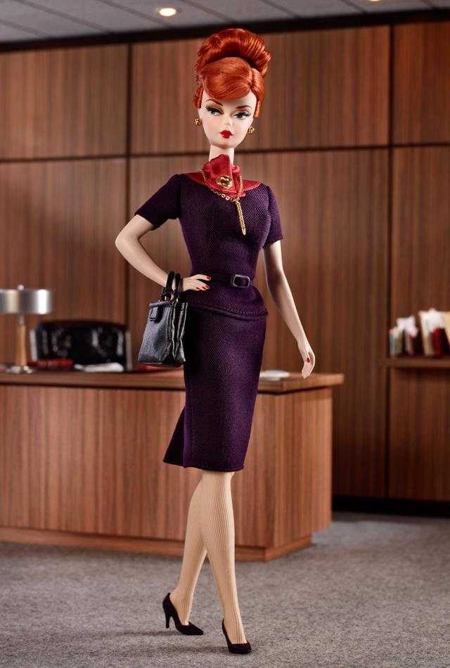 Mad men barbie doll