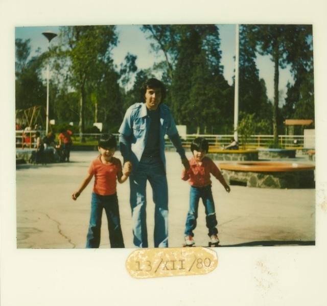 papa e hijos