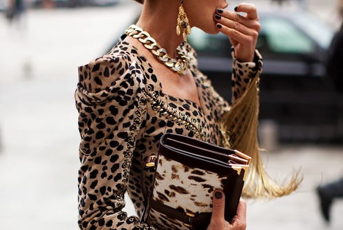 animal print-street style-fall 2012